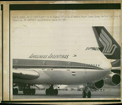 Vintage photo of Aircraft: Argentina Airlines.