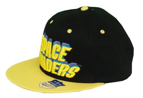 Invaders Space hombre béisbol Gorra opaco de única para Talla negro Negro FdqAd6Txw