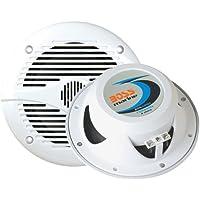 BOSS Audio Mr60W Car Speaker Marine White 200Watts 6 1 2 Inch 2 Way