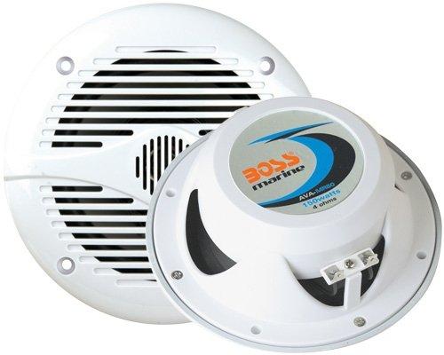 BOSS Audio Mr60W Car Speaker Marine White 200Watts 6 1 2 Inch 2 Way by BOSS Audio