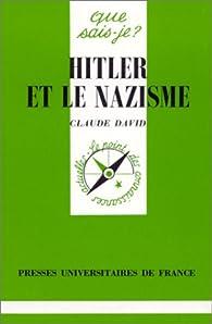 Hitler et le nazisme par Claude David