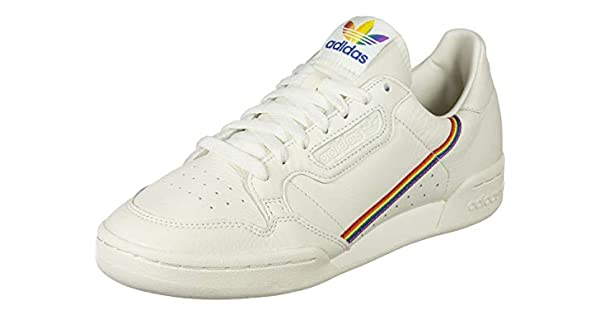 adidas Originals Continental 80 Pride Off - Zapatillas de deporte para  adultos, color blanco