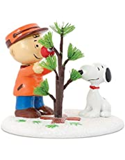 Peanuts Village from Department 56The Perfect Tree