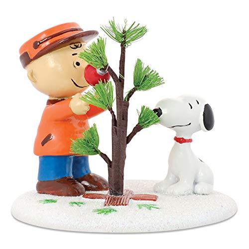 Department 56 Peanuts Village The Perfect Tree Accessory Figurine (Christmas Peanuts Pics)
