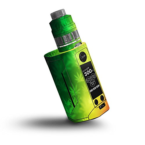 Price comparison product image Skin for Wismec Reuleaux RX GEN3 300W - Rasta Rainbow| MightySkins Protective, Durable, and Unique Vinyl Decal wrap cover | Easy To Apply, Remove, and Change Styles | Made in the USA