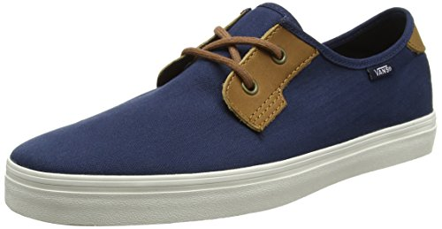 Vans Herren MN Michoacan SF Sneaker Blau (Herringbone Twill Dress Blues)