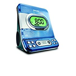 CD Clock Radio with Dual Alarm and Digital Am/fm Tun (Discontinued by Manufacturer)