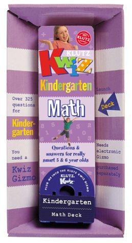 Klutz Kwiz Kindergarten Math Deck pdf