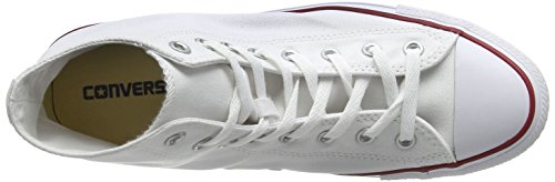Converse Zapatillas Star White All Chuck Taylor Altas Hi Unisex Core Adulto Optical 1416H
