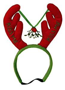 Outward Hound Kyjen  Kiss Me Antlers Pet Headband