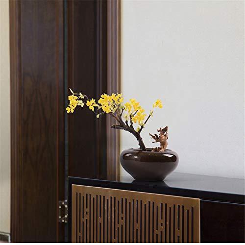 CITW Simple Art Yellow Fruit Tree Bonsai Bonsai Desktop Ornaments Modern Minimalist Home Furnishing OrnamentsOffice Gift by CITW (Image #3)