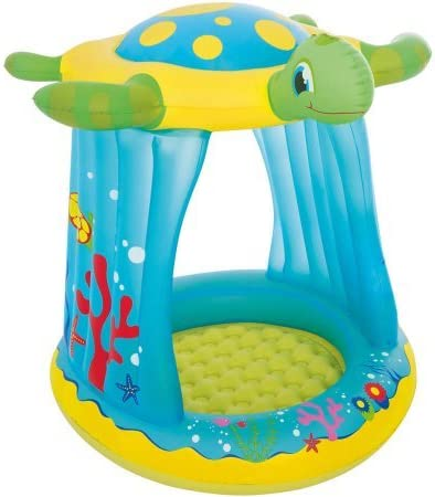 Amazon.com: Tortuga totz niños hinchable para jugar piscina ...