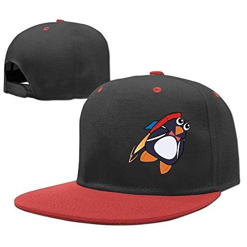Baseball Penguin Rocket Hop Cap Girls Boys Gorras Hip béisbol Hats 5qwRYn07x