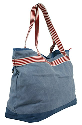 and Extra JeJo with Large Presented Cotton Zip Beige Light XXL Bags Beach By Bag 100 Wa4wfSF1q