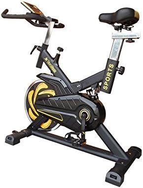 Amarillo//Negro M-L Unisex Adulto Fitness House Bestia Sports Bicicleta de Ciclo Indoor