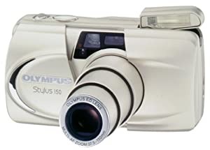 Olympus Stylus 150 QD Date 35mm Camera w/ 37.5-150mm Zoom