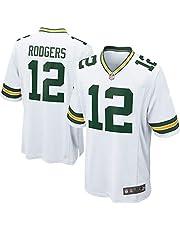 HFJLL NFL Football Jersey Green Bay Packers 12# Camisetas