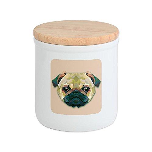 Cookie Jar Triangle Pug Dog