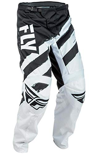 Fly Racing F-16 Race - Fly Racing F-16 Youth Pants (2018) Black/White (White, 20)