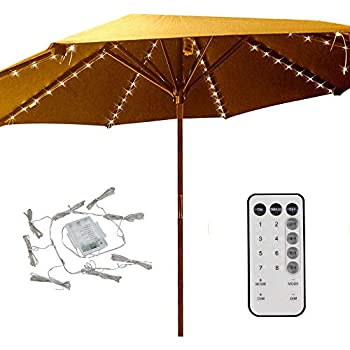 Amazon Com Patio Umbrella Lights 8 Lighting Mode 104 Led