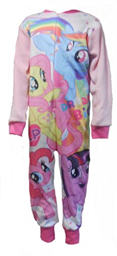 One Stop Kids My Little Pony Girls All In Sleepsuit Pajamas 4-5 Years (110cm)