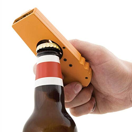 Bottle Opener - Plastic Flying Cap Zappa Beer Opener Wine Liquor Alcohol Bottle Ejection Gun Ejector Design - Bulk Deer Caps Divot Parts Glitter Cute Name Threaded Multi Rechargeable Electric -