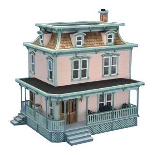 Lily Dollhouse Kit, Create Your Own Family Treasure With This Classic Victorian-Style Dollhouse Kit. by Lily