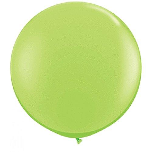 Qualatex Latex Balloons 52141 Lime Green, 36