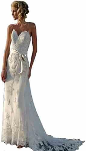 412ef3569191f Chady Lace Mermaid Wedding Dress 2018 Appliques Backless Beach Wedding  Dresses Bridal Gowns