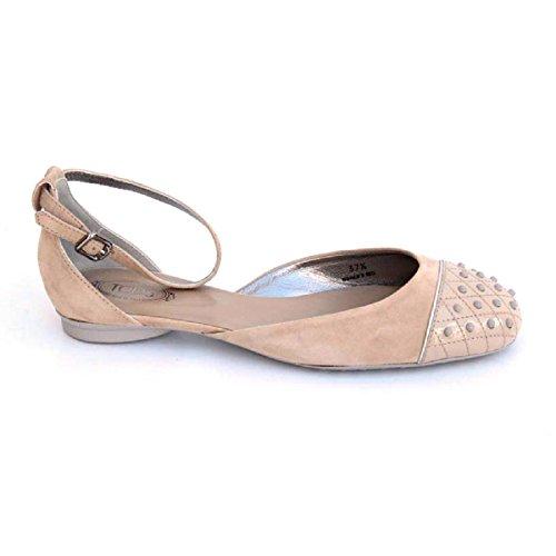Tods ladies flat sandal XXW0MQ0D7703DW156W Beige Nq9zyRh6n5