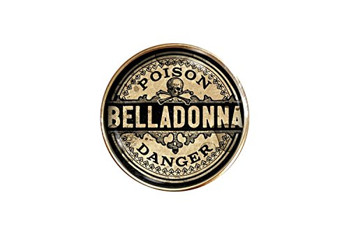 (Chaoticfashion Belladonna Ring Poison Adjustable Witchcraft Halloween Costume Jewelry)