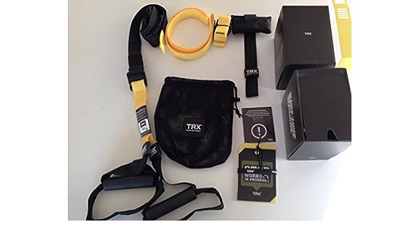 TRX PRO SUSPENSION TRAINING KIT: Amazon.es: Deportes y aire libre