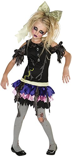 Zombie Doll Costume, Large