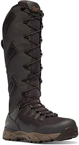 "Danner Men's 41530 Vital 17"" Snake Boot, Brown - 11 D"