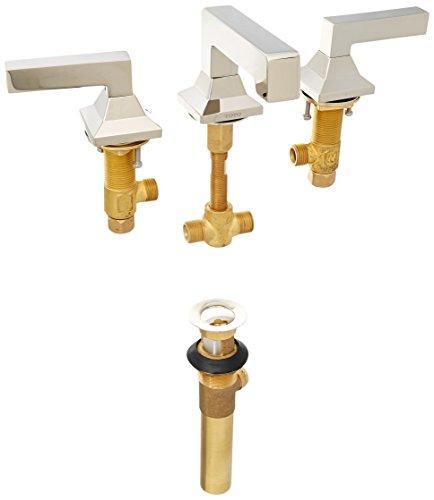 Toto TL930DDLQ#PN Lloyd Widespread Lavatory Faucet, Polished Nickel