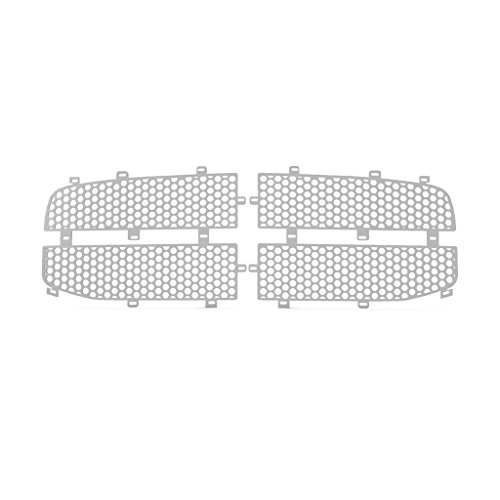Ferreus Industries Grille Insert Guard Circle Punch Brushed Stainless fits: 2006-2009 Dodge Ram 2500 TRK-115-03-Brushed-b