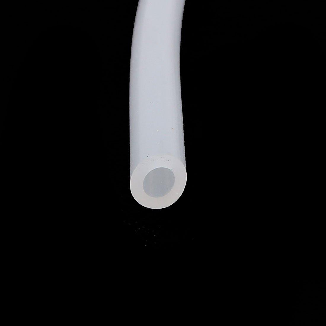 DealMux 3 milímetros x 5 mm Food Grade Beige silicone Tubo de Água Air Bomba Hose Pipe 5M: Amazon.com: Industrial & Scientific