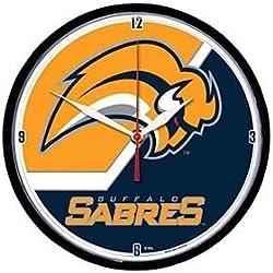 NHL Buffalo Sabres Round Wall Clock, 12.75