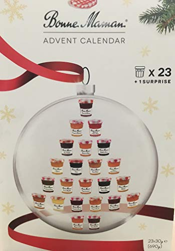 Bonne Maman 2018 Advent Calendar, With 23 Jams and Marmalades Plus One Special Item