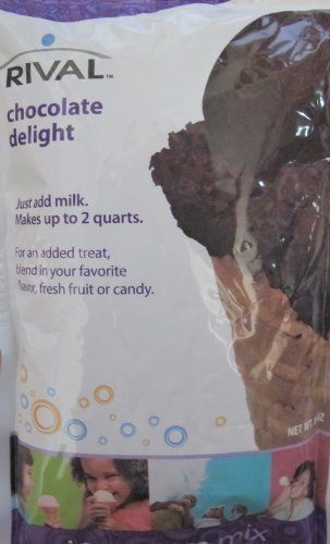 - Rival Frozen Delights Chocolate Ice Cream Mix (Single Package)