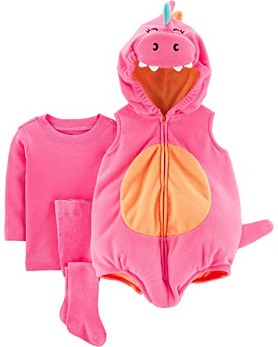 Carter's Baby Halloween Costumes, Pink Dragon, 12 Months