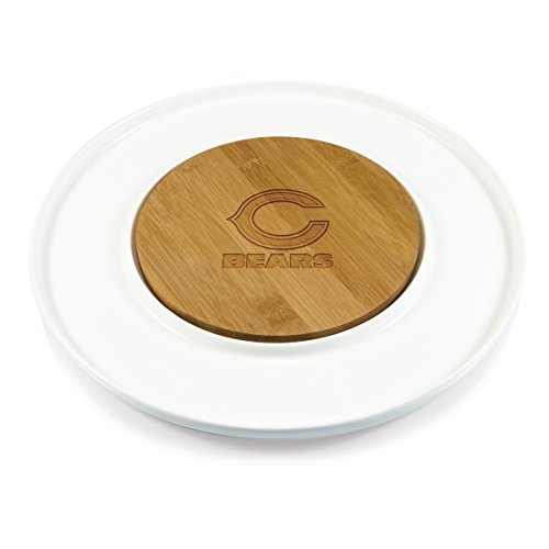 PICNIC TIME NFL Chicago Bears Island Laser Engraved Cutting Board ()