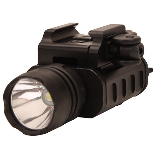 (UTG 400 Lumen Compact LED Weapon Light with QD Lever Lock)