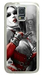 Samsung Galaxy S5 I9600 PC Hard Shell Transparent Case Harley Quinn by Sallylotus by runtopwell