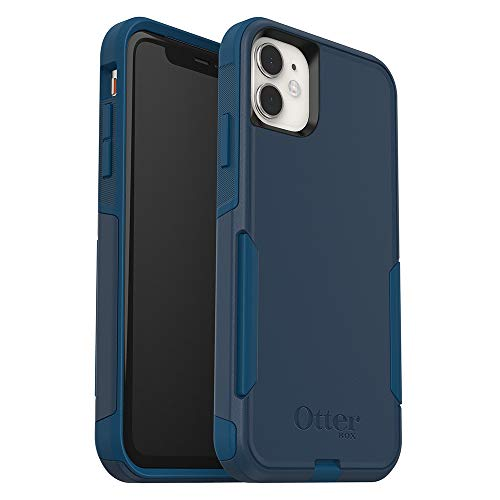 OtterBox Commuter Series Case for iPhone 11 – Bespoke Way (Blazer Blue/Stormy Seas Blue)