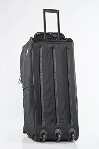 Sporttasche Reisetasche mit ausziehbarem Teleskop Griff Sport Reise Tasche Bag (XXL 140 L)