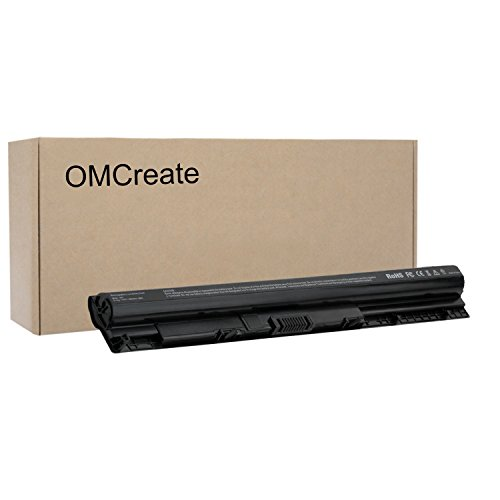 OMCreate Battery Compatible with M5Y1K for DELL Inspiron 5558 5555 5755 5559 5758 5551 3451 3552, Vostro 3458 3558-12 Months Warranty [Li-ion 4-Cell] ()