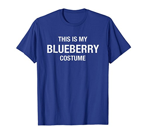 Halloween My Blueberry Costume Blue Shirt Funny ()