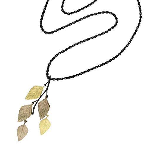 ''Autumn Birch'' Long Necklace By Michael Michaud for Silver Seasons… by Michael Michaud
