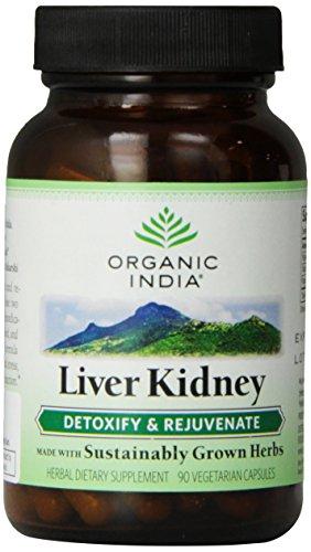 Organic India Liver Kidney 90 V-Caps (Kidney Support)